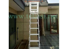 侧装壁挂式伸缩楼梯