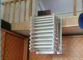 侧装壁挂式伸缩梯