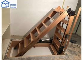 实木折叠楼梯